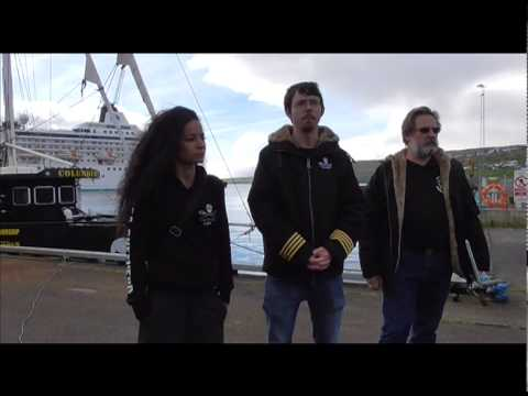 Sea Shepherd Global's Capt Peter Hammarstedt on Operation GrindStop's New Logo