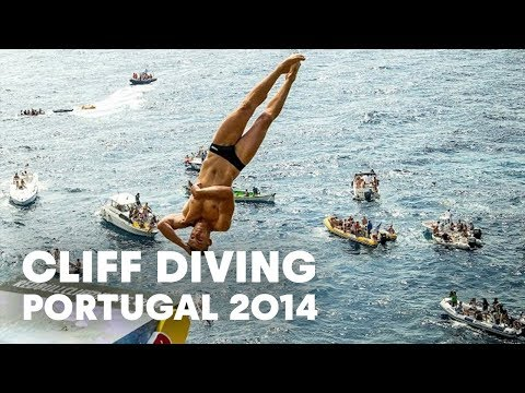 RED - Jump into more adventure HERE: http://win.gs/1aXUVRM The Red Bull Cliff Diving World Series went back to the basics with a return to the roots of cliff diving on the Azores archipelago. The...