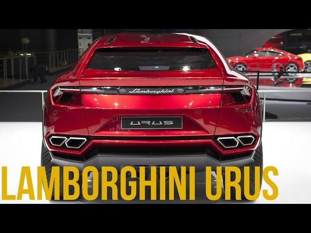 Lamborghini URUS Interior and Exterior
