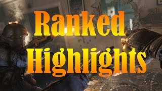 Ranked Highlights and Funny Ranked Moments #1 // Rainbow Six Siege