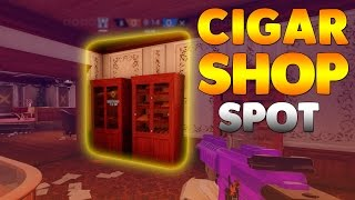 How to get on top of some cupboards in the Cigar Shop on Kafe Dostoyevsky, This spot is really useful for camping the door as attackers would not expect anyone to be up there and will most likely think the shield is there to protect them from rushing! If you enjoyed the video please leave a like!► Subscribe for more: http://bit.ly/2aGVfde► Music: https://www.youtube.com/user/NoCopyrightSoundsCredit: AryFireZRainbow six siege, glitch, glitches, bugs, how to get out of map, how to glitch, rainbow six glitches, siege glitches, siege glitch, rainbow six wall breach, rainbow six hiding spot, rainbow six siege hiding, rainbow six siege spot, rainbow six spot.