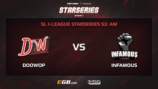 DooWop vs Infamous, Game 2, SL i-League StarSeries Season 3 AM