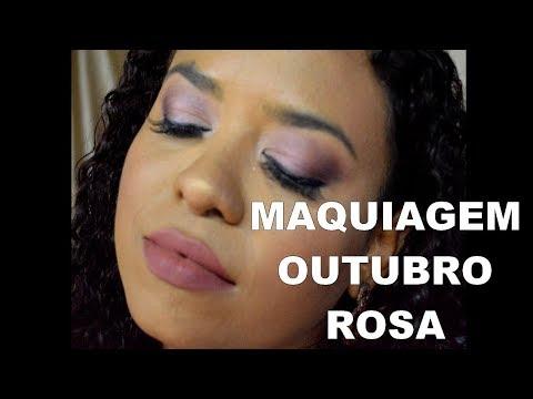 Maquiagem Outubro Rosa