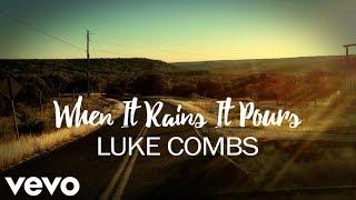 Luke Combs - When It Rains It Pours (Lyrics) Mp3