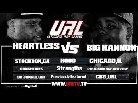 SMACK/ URL PRESENTS Heartless VS Big Kannon
