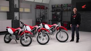 3. The 2019 Honda CRF Series