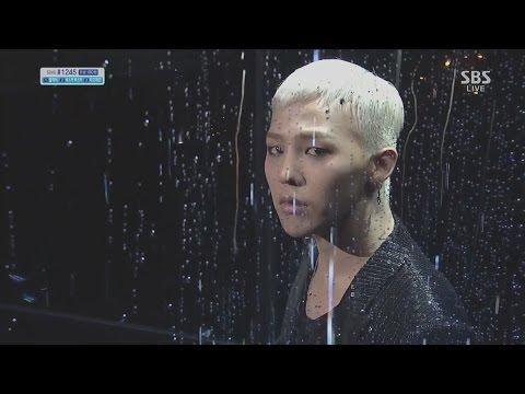 G-DRAGON_1013_SBS Inkigayo_BLACK (Feat. JENNIE KIM of YG New Artist)