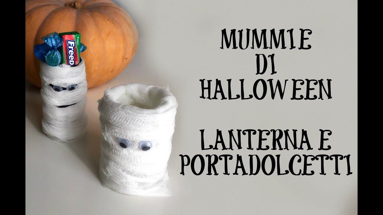 Mummie di Halloween ★ Vasetti porta-dolcetti e lanterne ★ RICICLO CREATIVO