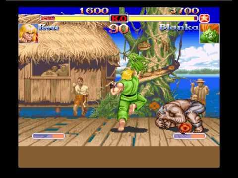 super street fighter 2 turbo for Amiga CD32