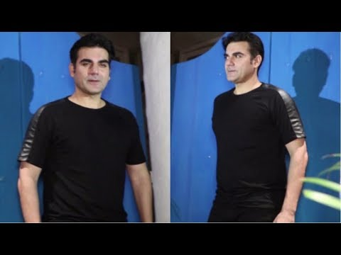 Arbaaz Khan Spotted At Olive Bar & Kitchen  Bandra