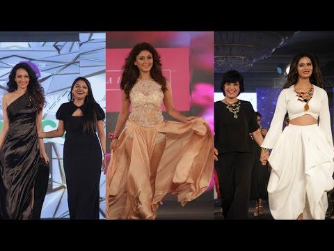 Manjari Phadnis | Meenakshi Dixit  | Dipannita Sharma At Designer Nidhi Munim Summer Fasion Week