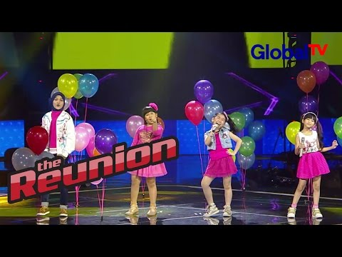 "Rachel, Jane, Shanty, Sherina ""Shake It Off"" 