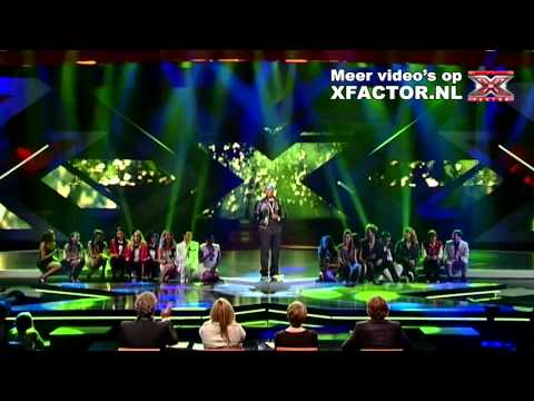 X FACTOR 2011 - LIVESHOW 2 - R.Kelly Ft. X FACTOR - I Believe I Can Fly