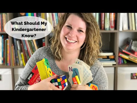 What Should My Kindergartener Know? | Kindergarten Learning Expectations | Raising A to Z