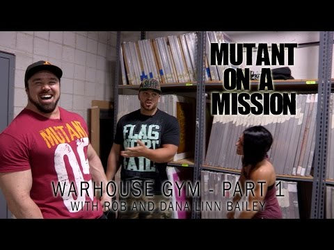 ron bailey - Dana Linn and Rob Bailey are fitness industry superstars. In the first part of this special two-part episode of Mutant On A Mission, Big Ron tours their incr...