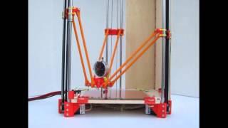 Best Technology 3D Printer Prototype Rostock Delta Robot/2015/youtube