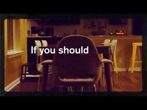 If I Should Go Before You (Lyric Video)