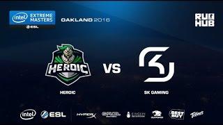 IEM Oakland - Heroic vs SK Gaming - de_cobblestone - [Enkanis, yxo]