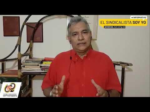 Timoteo Romero director del departamento de Juventud presenta el Informativo El Sindicalista Soy Yo