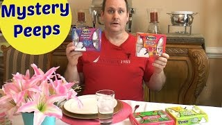 "Join Eric as he does a taste test of the Peeps Mystery flavors. Eric tries to guess what flavors are in mystery box #1, box #2, and box #3. Amy Learns to Cook is all about learning to make simple, tasty food from fresh ingredients.  One year ago, I made a commitment to stop eating processed convenience foods.  I decided to learn to cook ""real"" food. Join me!  Let's learn to cook together! Enjoy! Please share! Please SUBSCRIBE to my channel, LIKE, and leave a COMMENT.Please visit my website: www.amylearnstocook.comAny links in this description, including Amazon, are affiliate links."