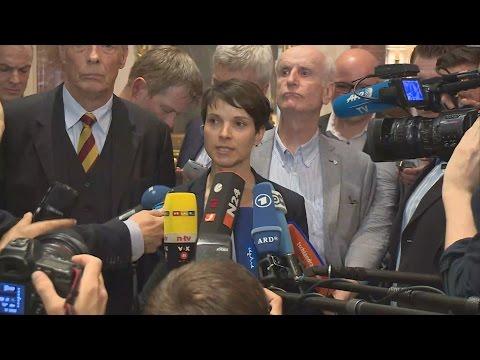 AfD bricht Treffen ab: Eklat bei Gespräch mit Zentralrat der Muslime - Statement Frauke Petry