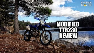 4. 2016 Yamaha TTR230 Modded Review - Regeared & rejetted | How to uncork your TTR!
