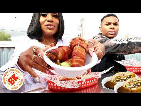 BK Carne Asada & Hotdogs Mukbang, So Good!