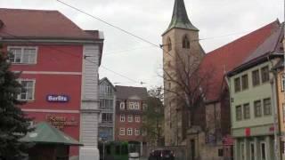 A walk around the city of Erfurt (Thuringia, Germany) - 20th November, 2011