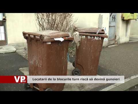 Locatarii de la blocurile turn riscă să devină gunoieri