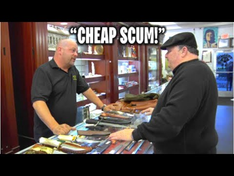 Rick Harrison LOSES HIS TEMPER Over Shady Customer (Pawn Stars)