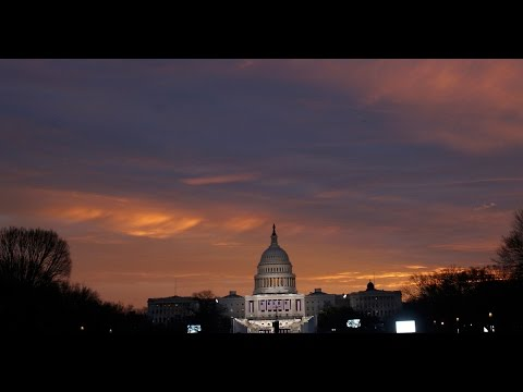 A timelapse look at Washington, D.C., as the nation's capital prepares to inaugurate President-elect Donald Trump.