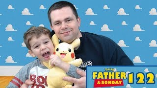 Father and Sonday!   Opening Pokemon Cards with Lukas #123 by The Pokémon Evolutionaries