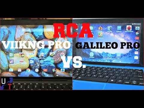 Battle Of The Budgets: RCA 11 Galileo Pro VS. RCA 10 Viking Pro Tablet!