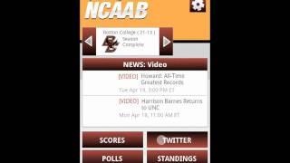 Sporting News NCAA Basketball YouTube video