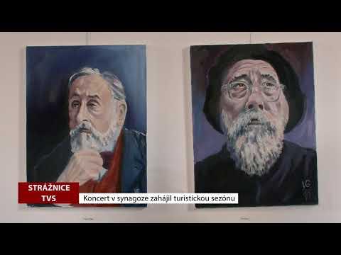 TVS: Strážnice - Koncert v synagoze zahájil turistickou sezónu