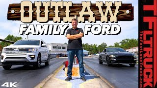 Can a Tuned 650 HP Ford Expedition Grocery Getter Outrun a Mustang GT V8? by The Fast Lane Truck