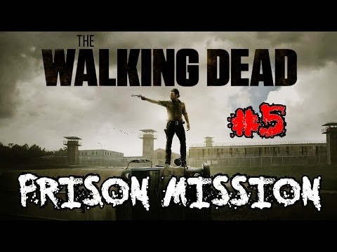 Custom Zombies – The Walking Dead: Prison Mission | Another Epic Jump Scare (Part 5)