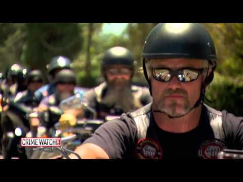 Frightened Child Enters Courtroom To Testify, But Watch What These Bikers Do!