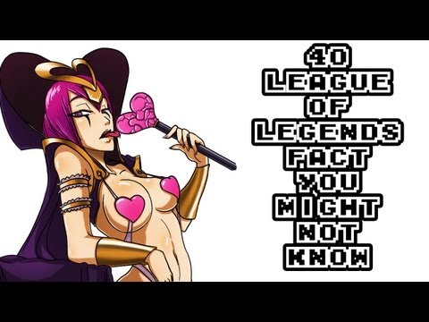 40 Awesome League Of Legends Facts You Might Not Know