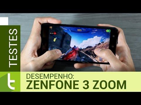 Desempenho do Asus Zenfone 3 Zoom  Teste de velocidade oficial do TudoCelular