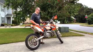 4. FMF Q-Stealth 2013 KTM 300 XC-W Before and After