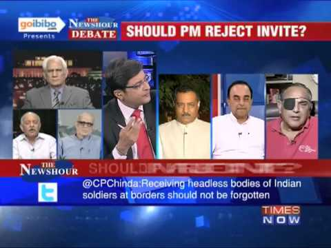 google   invite - In a debate moderated by TIMES NOW's Editor-in-Chief Arnab Goswami, panelists -- Subramanian Swamy, President, JP; Retd Colonel Anil Kaul, Vr C; Mahroof Raza...