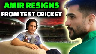 Amir Takes Early Retirement From Test Cricket | Ramiz Speaks