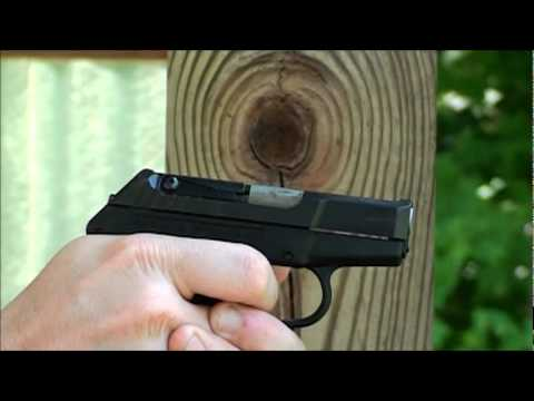 Kel Tec P380 Slow Motion .380 ACP review at the range