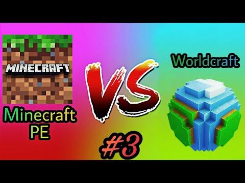Minecraft PE vs Worldcraft 2 - Part 3