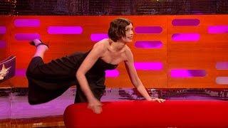 Anne Hathaway demonstrates zero gravity - The Graham Norton Show: Series 16 Episode 6 - BBC One
