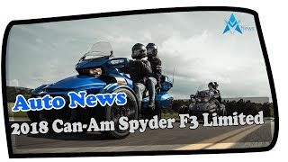 3. MUST WATCH !!!2018 Can Am Spyder F3 Limited Price & Spec
