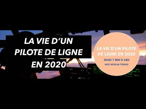 Webinar ENAC Alumni LA VIE DE PILOTE DE LIGNE EN 2020