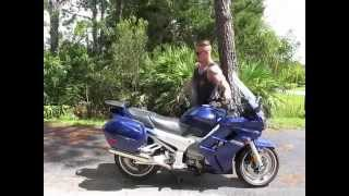 8. 2005 Yamaha FJR 1300 (blue) #1424 Fallen Cycles Test Ride Fallen Cycles Test Ride