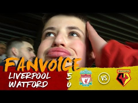 Salah Hattrick As Liverpool Smash Watford! | Liverpool 5-0 Watford | 90min FanVoice